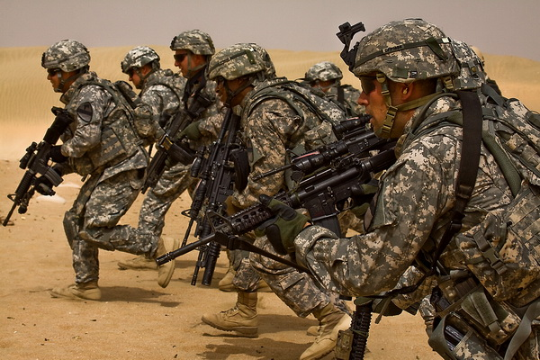 amerika- vojska