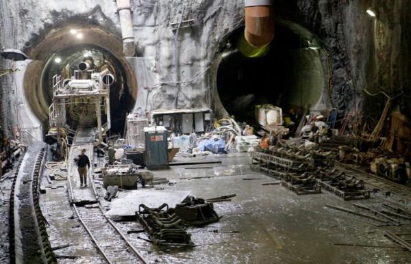 tuneli- gradnja