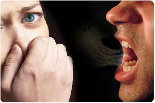 zadah- usta- smrad
