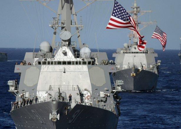 Udarna grupa američkih ratnih brodova ušla u Južno Kinesko more!