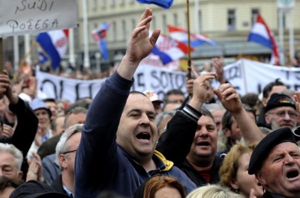 hrvati- protesti