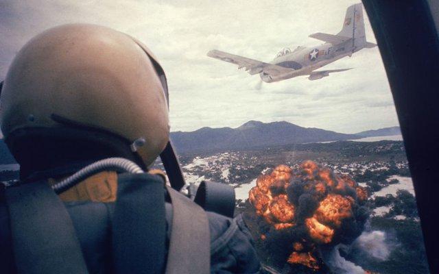 vietnam- amerika- bombardovanje