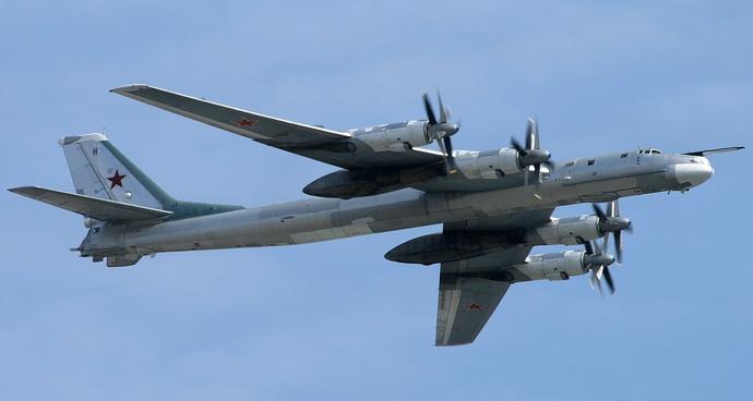 Tu-95 tupoljev rusija bombarder avion
