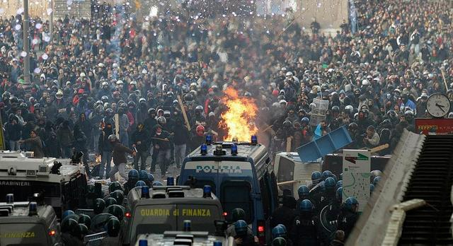 italija- protesti
