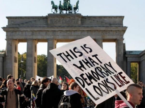nemacka- protesti