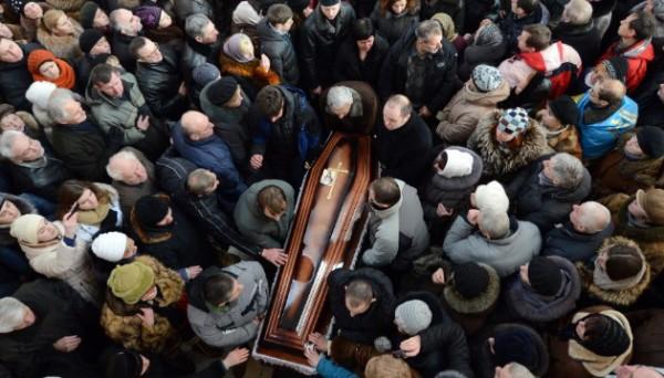 ukrajina- sahrana