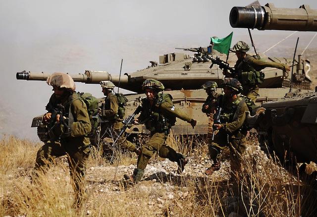 izrael- rat- vojska
