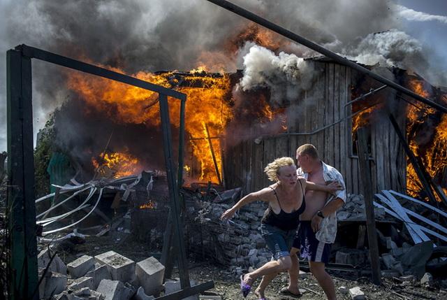 ukrajina bombardovanje
