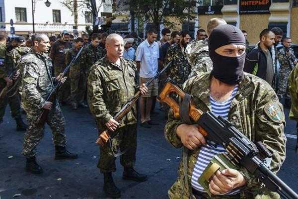 donbas novorosija pro ruski ustanici i zarobljeni ukrajinci