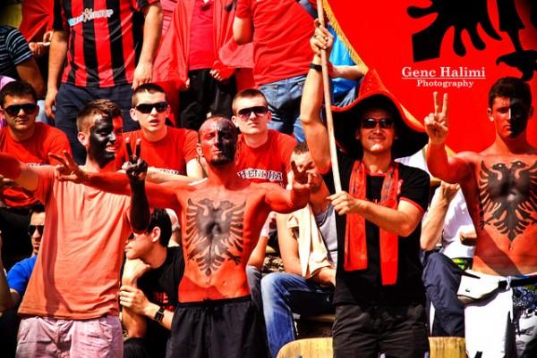 Navijači Albanije sa fantomkama pošli ka Beogradu!