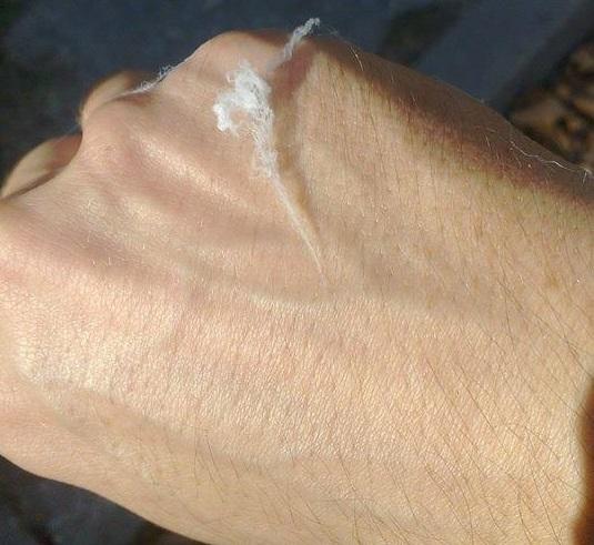 kemtrejls- vlakna