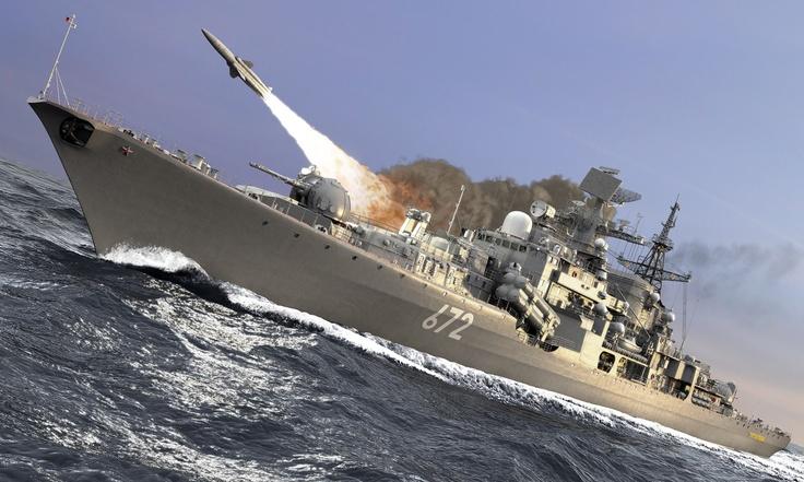 rusija- brod- raketa