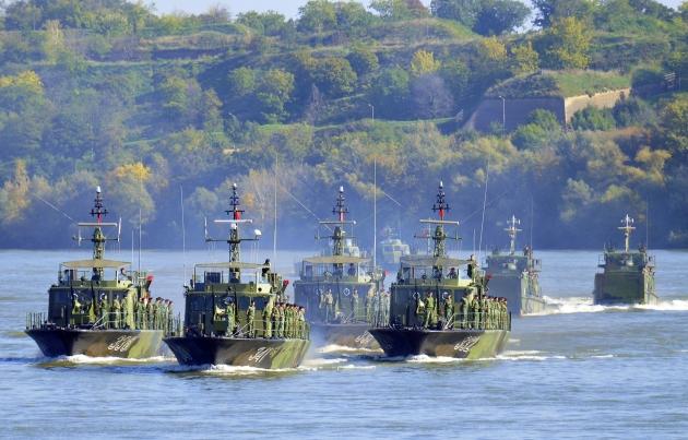 srbija- reka- flota- vojska