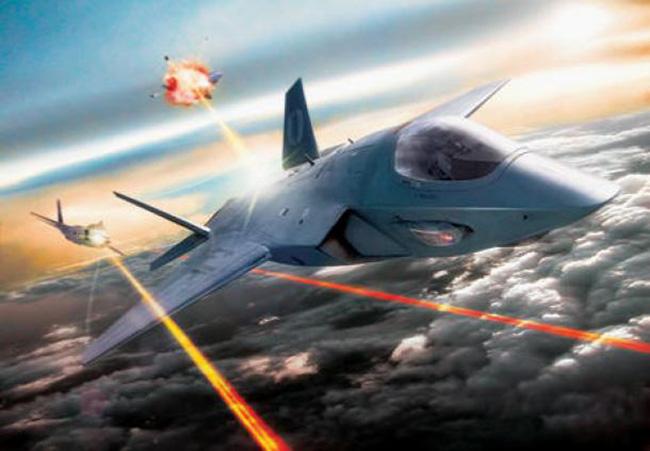 avion- laser- rat
