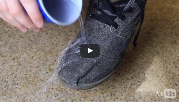 cipele- nepromočovo- voda