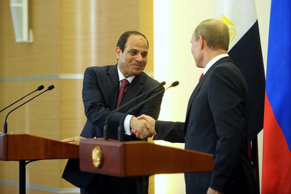 sisi- putin- egipat- rusija