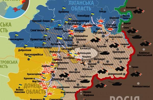 novorusija- mapa- karta