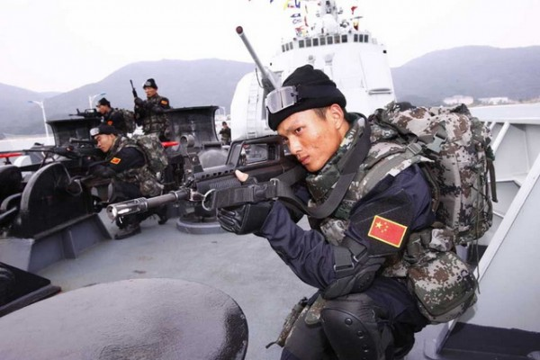 kina- vojnik- vojska