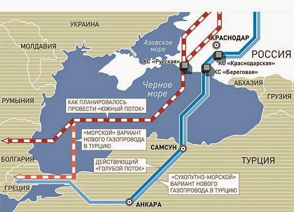 rusija- gas- mapa
