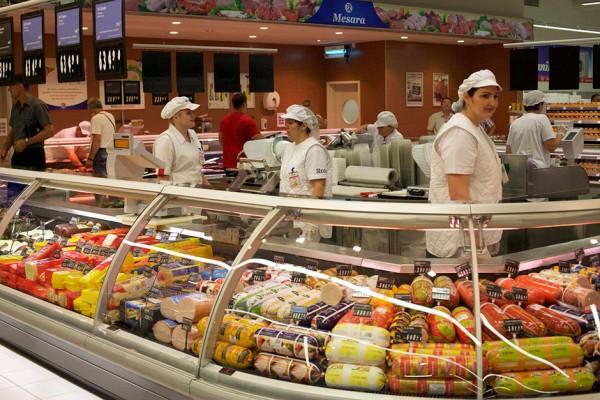 supermarket- mesara- salame