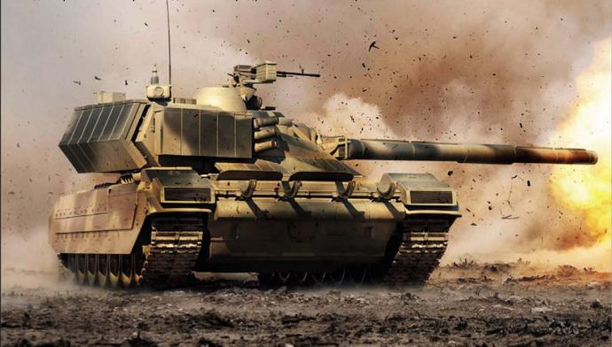 tenk- rusija- armata