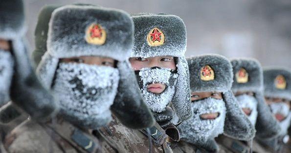 kina- vojnici- vojska