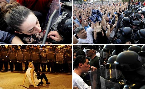 makedonija- protesti- demonstracije- policija 1