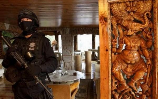 POLICIJA JE UŠLA U VILU MEKSIČKOG NARKO BOSSA I OSTALA U ČUDU: Morate videti šta su pronašli! (Video)