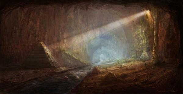 grad- podzemlje- drevno