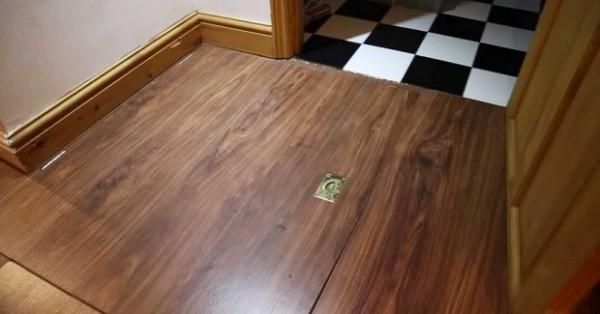 Preselio se u novi stan i pronašao skriveni ulaz: Ono što je dole ispod je zastrašujuće..(VIDEO)