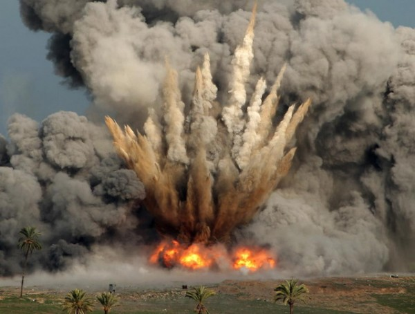 bombardovanje- rat