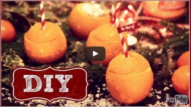 Napravila je malu rupu na narandži, krajnji rezultat je briljantan! (VIDEO)