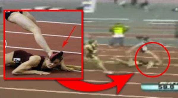 Atletičarka pala na trci, ostale je pregazile, a kada je ustala šokirala je stadion! (VIDEO)
