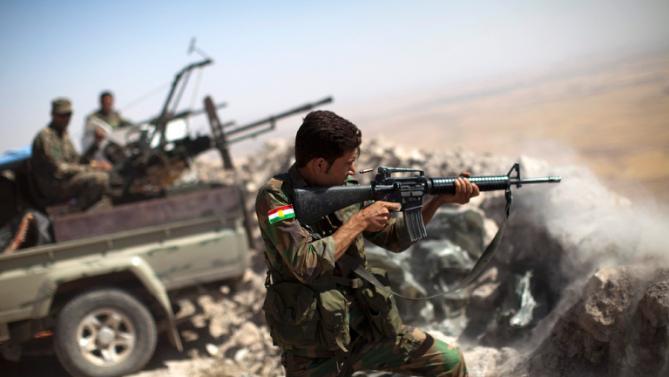 irak- kurdi- rat- vojnik