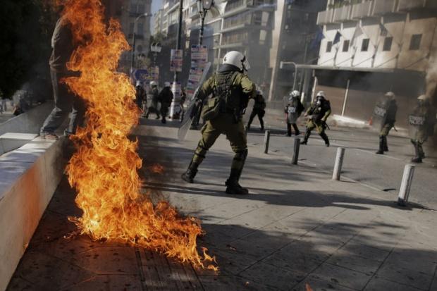 policija- grcka- protesti- demonstracije