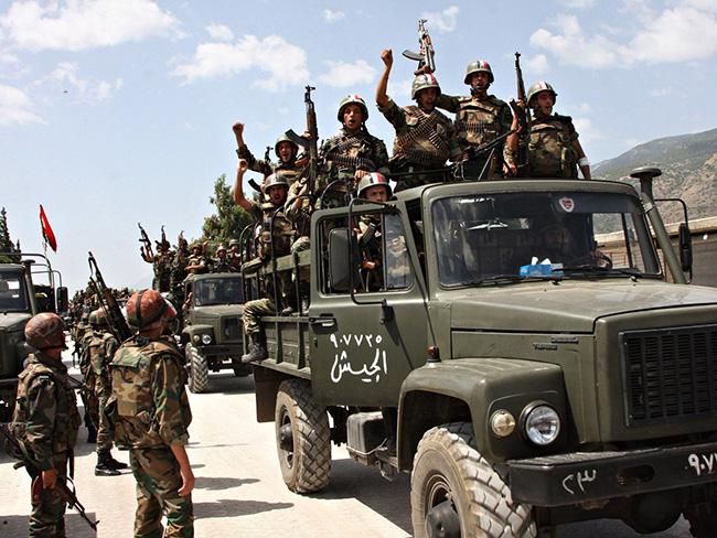 sirija- vojska- vojnici