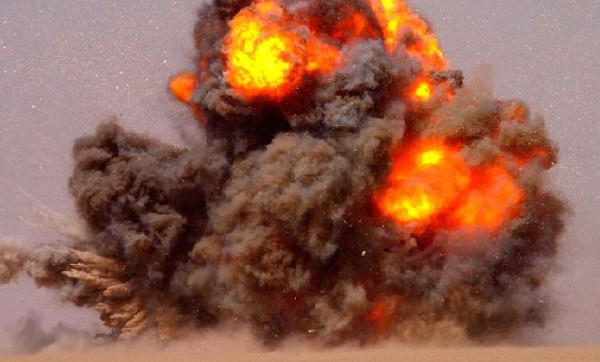 eksplozija- bombardovanje