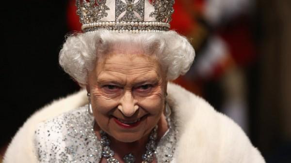 Queen Elizabeth II attends the queen's speech
