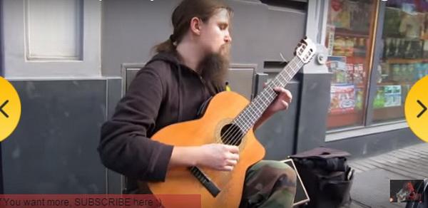 gitara- covek