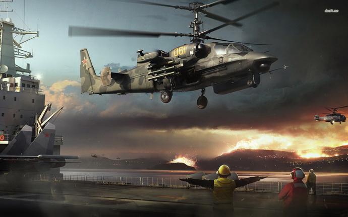 helikopter- ka 52- rusija- rat