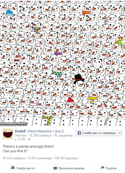 panda- zagonetka- foto