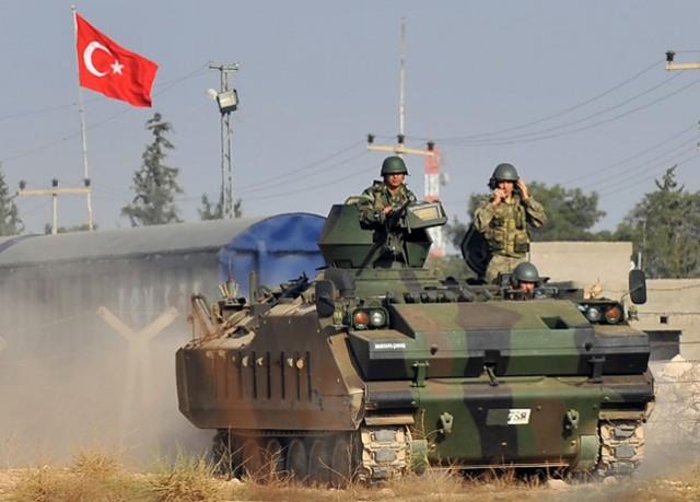 PLANSKI PROVOCIRAJU RAT: Turska vojska sa tenkovima ušla u Siriju i počela da gradi utvrđenja