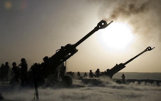 vojska- rat- granatiranje