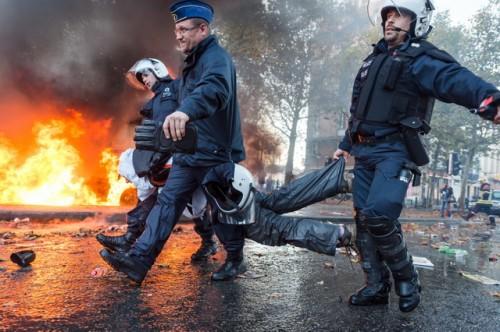 brisel- protesti- demonstracije1