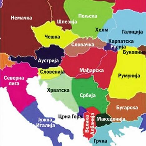 karta sveta srbija EVO KO ĆE SVE JOŠ DOBITI DRŽAVU NA BALKANU: Kroz pozivne  karta sveta srbija