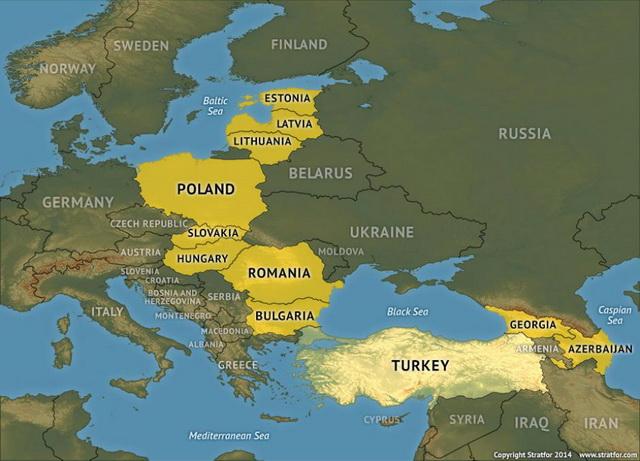 gruzija mapa MEĐUMORJE  TAJNI PLAN VATIKANA I MASONA U SARADNJI SA ENGLESKIM I  gruzija mapa
