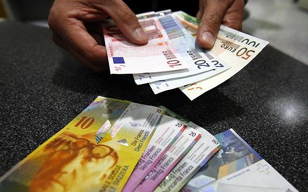 evro- svajcarci- novac