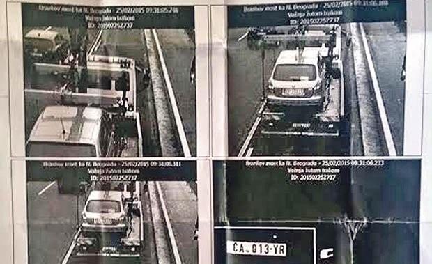 kazna-auto