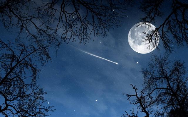 mesec- nebo- zvezde