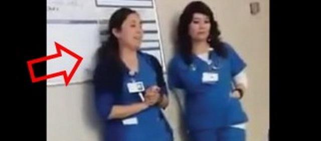 Dve medicinske sestre su ušle u sobu pacijenta, a ono što je leva uradila će zauvek pamtiti! (VIDEO)